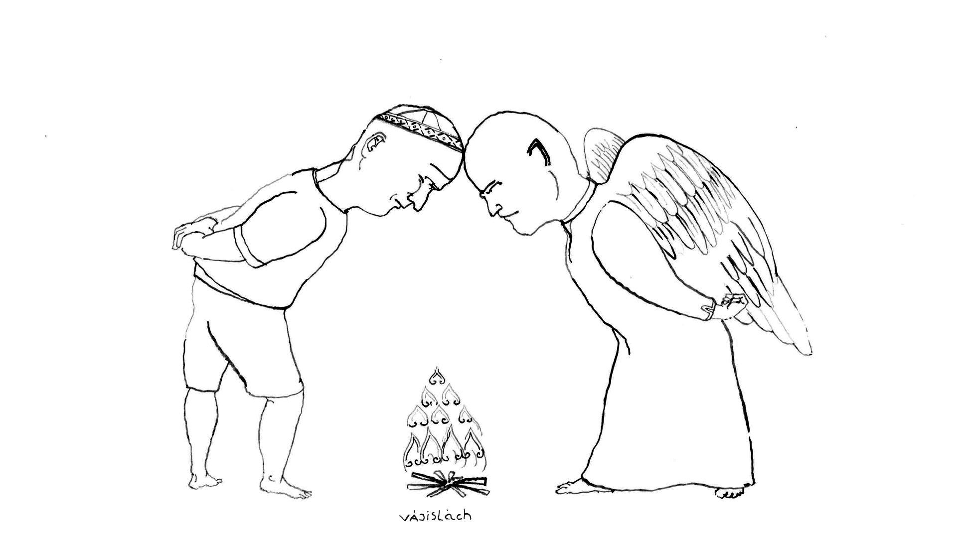 heti szakasz december 5-en: Vájislách (1Mózes 32:4–36:43.)